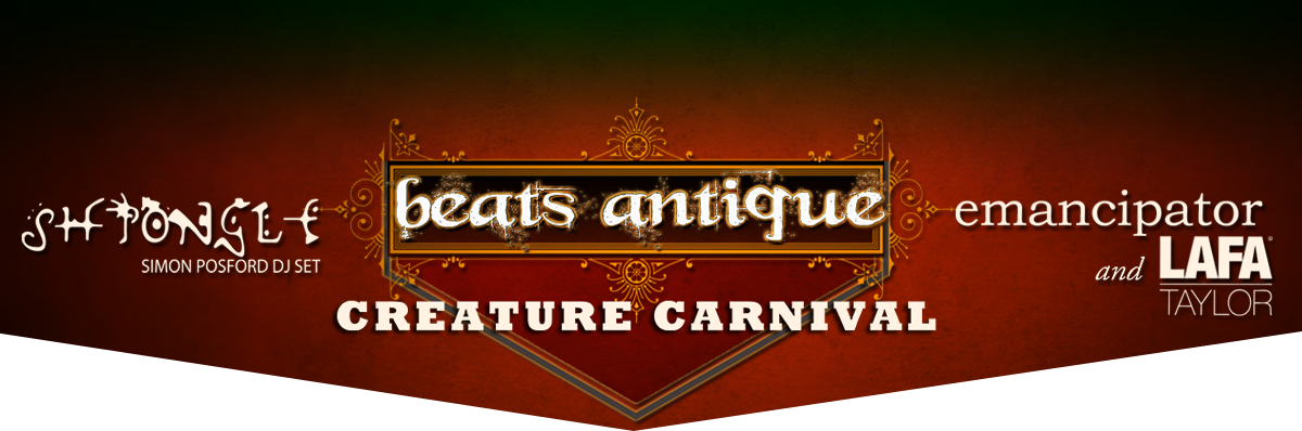 beats antique featured creature carnival